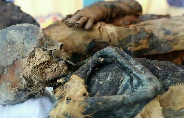 Гробница супружеской пары эпохи Птолемеев обнаружена в Египте